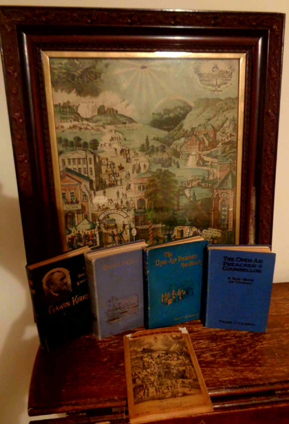 The Broad and Narrow Way Picture - Original copy with History and Explanation