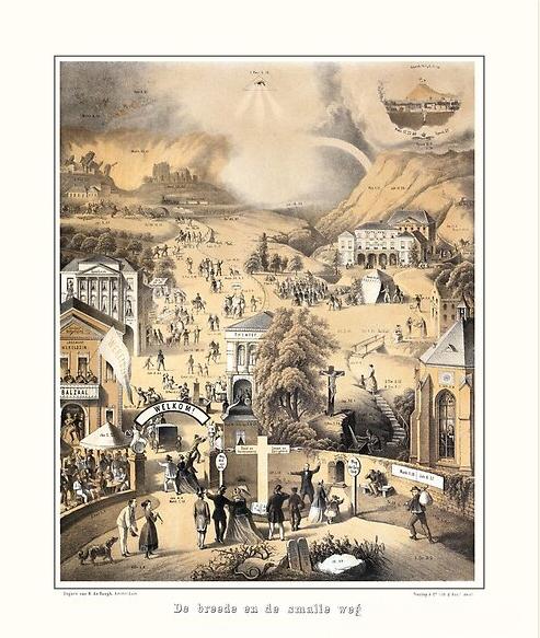 De Breede en de Smalle Weg - 1867