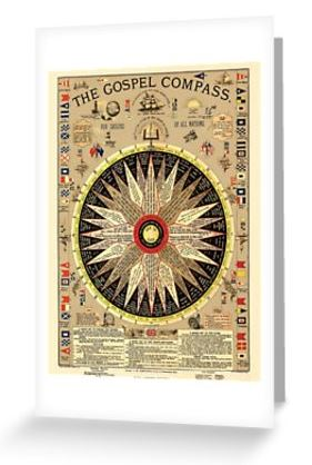 The Gospel Compass - For Sailors of All Nations - Cards