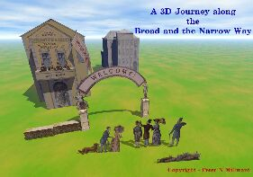 3D JOURNEY ALONG THE BROAD AND NARROW WAY